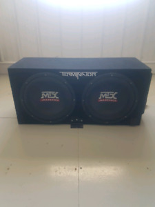 Subs/Box/Amp for sale