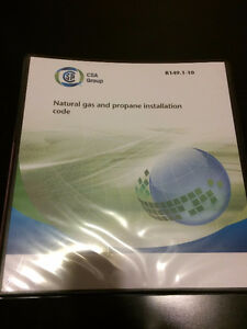 Natural gas and propane installation code B149.1-10