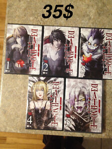 Death note Vol1-2-3-4-5(episode 1-20 and boxset vol2 ep 21-37)