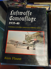 Various ww2 reference books luftwaffe