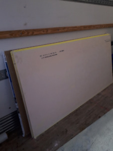 Dry walls 8ft by 4ft