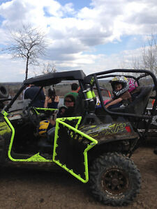 Vent racing rear seats for 2013 rzr 900