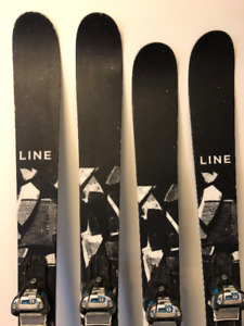 17/18 LINE Blends Size 171 Size 178 and bindings.