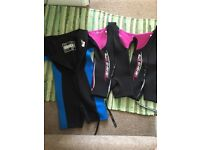 Child's wetsuits