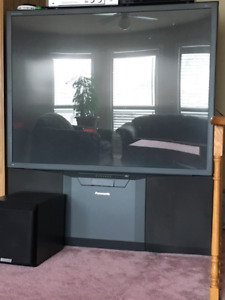 "Panasonic CinemaVision - 50"" rear projection TV"