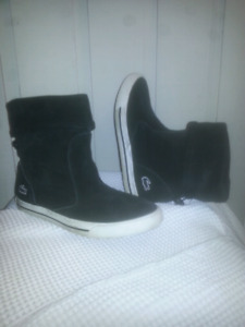 Womens Lacoste Mante Suede Boots