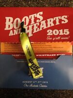 Boots and Hearts Concert Ticket!