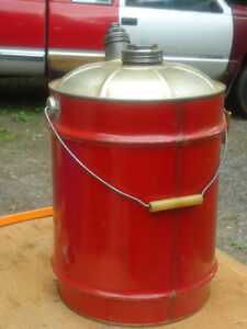 Vintage Metal Gas Can Price Reduced