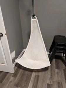 Hanging children's chair