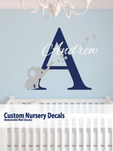 Custom Nursery Decor / Removable Wall Decals, etc.