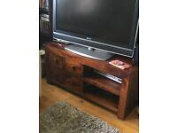 John Lewis solid wood TV table