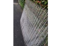 Heavy mesh for dog run
