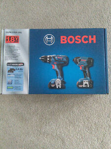 Bosch Power Tool Combo Kit - Drill/Driver and Impact Driver