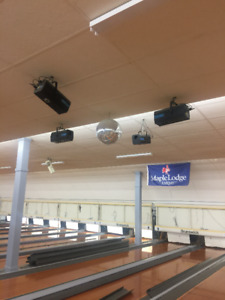 LIQUIDATION - Bowling Alley & Law Office