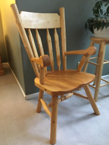 Handmade Yukon Pine Chairs for Sale