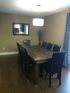 Dining tables, Ottomans and more !
