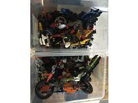 Lego Genuine Bionicles & Technic Mix - Job Lot.