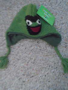 Sesame Street - Oscar Hat new with tags , Size 6/18 months   $ 5