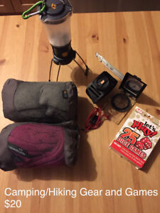 Camping and Climbing Gear