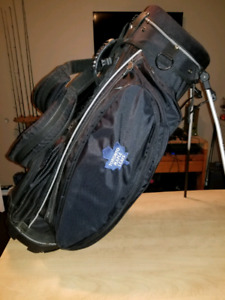 Maple Leafs Callaway Carry Stand Bag