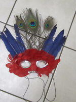 halloween mask with elastic  North Delta or scienceworld