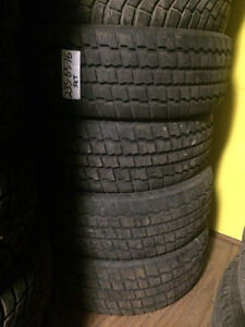 COOPER SNOW TIRES 235-65-16 $300 INSTALLED
