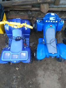 Battery operated quad ride on toys