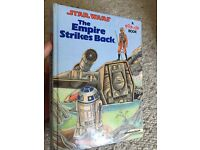 First edition Star Wars Pop up book 1980's