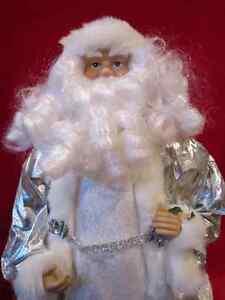 "Santa Clause figurine doll 18"" fancy home decoration display whi Regina Regina Area image 2"