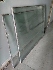 Large, Double Pane Glass Units
