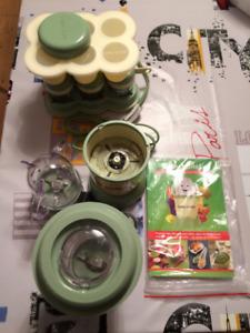Mixeur Baby Bullet 20-pieces Food Making System, super état!