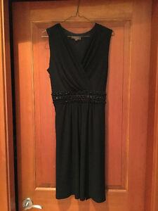 Black Knee Height Dress