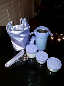 Curves 3 piece thermos