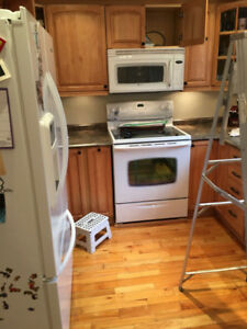 Maytag Microwave Fan stove Hood White