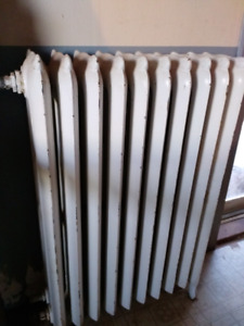 Hot water Radiant heater cast-iron