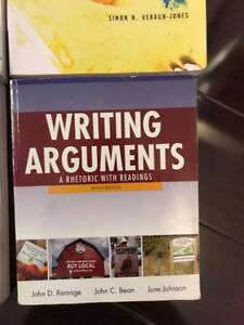 Writing Arguments: A rhetoric with readings textbook