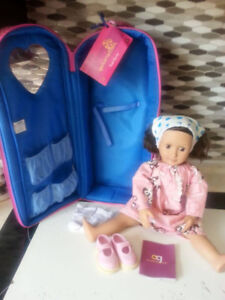 Our Generation Doll with Carrying Case