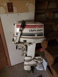 20hp Johnson outboard