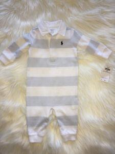 NWT POLO RALPH LAUREN baby boy onesie
