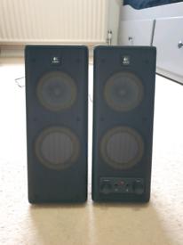 Logitech PC speakers WFH