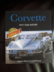 Corvette Fifty Year History with DVD Mint Condition.