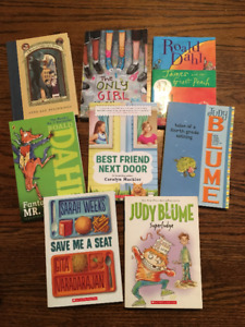 Kid's books (ages 7+)