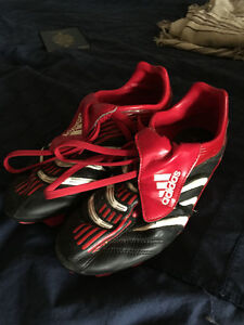 Like New Adidas Cleats (Size 7-8)