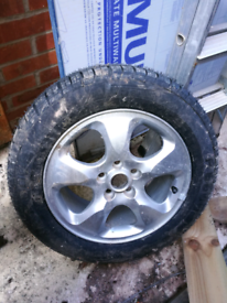 "Here's 16 "" spare wheel for jaguar"