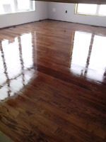 Hardwood flooring, refinishing and instulation, recoat and repai