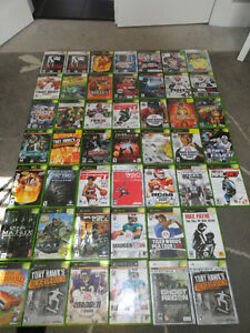 Variety of 47 Xbox Video Games