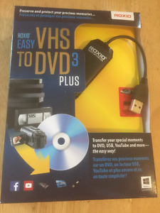 VHS TO DVD 3 PLUS SOFTWARE (WINDOWS)