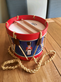 French Vilac toy soldier drum