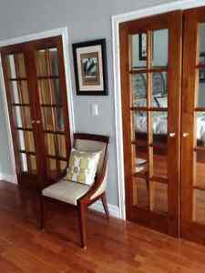 2 set of two french doors