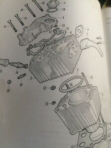 1963 Honda 50 55 Parts List Regina Regina Area image 3